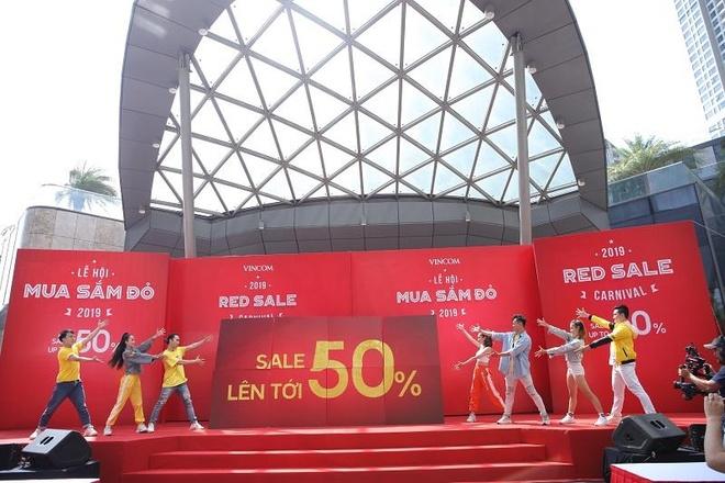 Le hoi mua sam Vincom Red Sale 2019 co gi hap dan? hinh anh 4