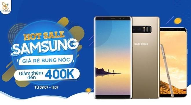 Nen mua Galaxy Note 8 hay S8+ giam den 400.000 dong tai XTmobile? hinh anh 1