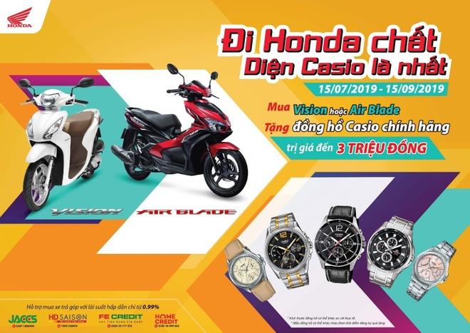 Nhan qua hap dan voi chuong trinh 'Di Honda chat - Dien Casio la nhat' hinh anh 1