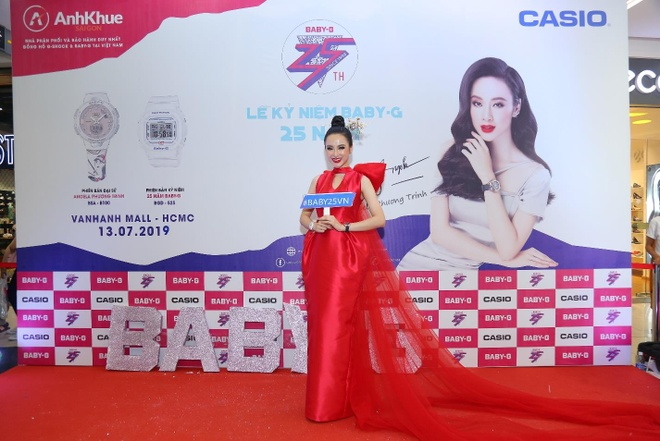 Anh Khue Sai Gon to chuc sinh nhat cho dong ho Casio Baby-G hinh anh 2