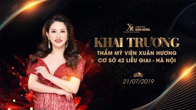 Tham my vien Xuan Huong khai truong co so moi tai Lieu Giai, Ha Noi hinh anh 1