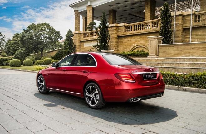 Mercedes-Benz E-Class moi - ban nang cap chat luong hinh anh 3