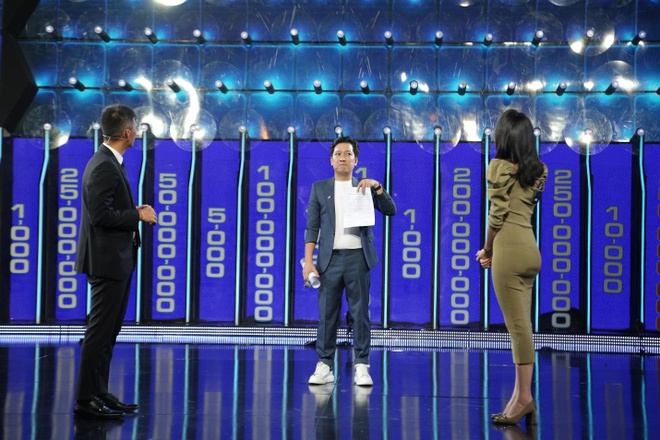 Thuy Tien, Cong Vinh 'tinh be binh' tham du gameshow Tuong lua hinh anh 4