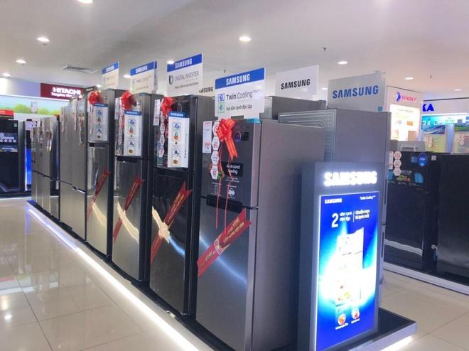 Tu lanh Samsung dat hang trong 'Tuan le vang Han Quoc' tai Nguyen Kim hinh anh 2