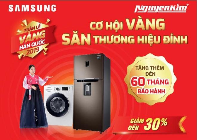 'San' may giat xin, gia tot tai 'Tuan le vang Han Quoc' cua Nguyen Kim hinh anh 1