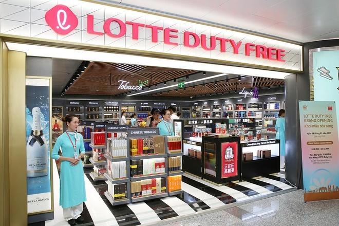 Lotte Duty Free khai truong cua hang thu 3 tai san bay quoc te Noi Bai hinh anh 2