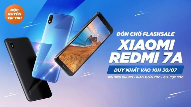Sam Xiaomi Redmi 7A tai Tiki voi gia chi tu 2,3 trieu dong hinh anh 1