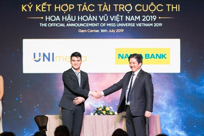 Nam A Bank chinh thuc dong hanh cung cuoc thi Hoa hau hoan vu VN 2019 hinh anh 1
