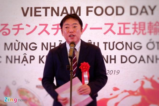 Tuong ot CHIN-SU chinh thuc gia nhap thi truong tieu dung Nhat Ban hinh anh 5