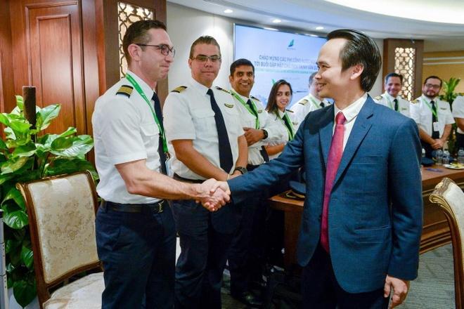 Bamboo Airways ra mat dan phi cong voi 80% nguoi nuoc ngoai hinh anh 3