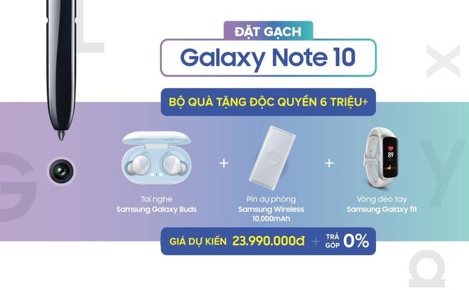Giam 6,1 trieu khi 'dat gach' Galaxy Note 10, 10+ tai Di Dong Viet hinh anh 1