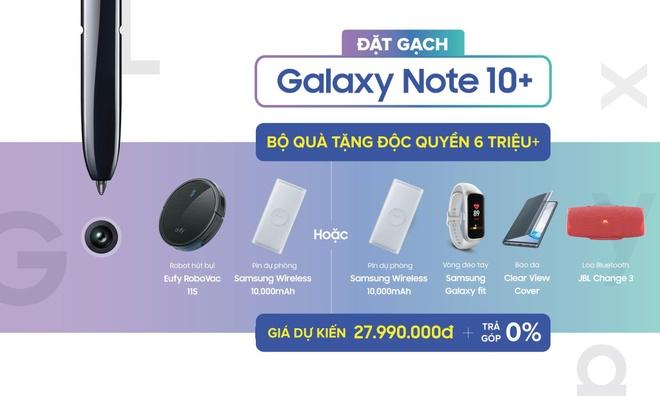 Giam 6,1 trieu khi 'dat gach' Galaxy Note 10, 10+ tai Di Dong Viet hinh anh 2