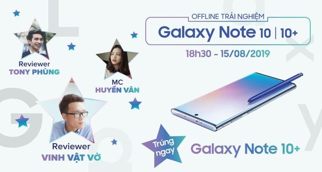 Giam 6,1 trieu khi 'dat gach' Galaxy Note 10, 10+ tai Di Dong Viet hinh anh 3