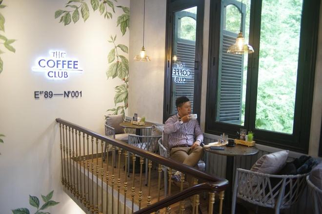 Khi ca phe tro thanh van hoa tai The Coffee Club Viet Nam hinh anh 3