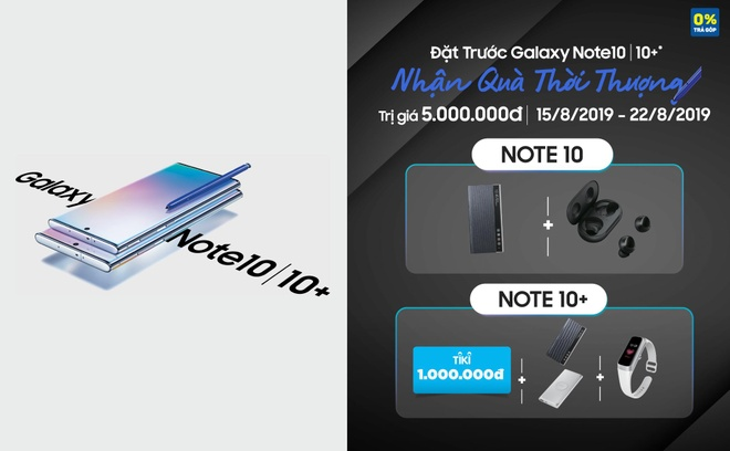 Dat truoc Samsung Galaxy Note10,  10+ tai Tiki anh 1