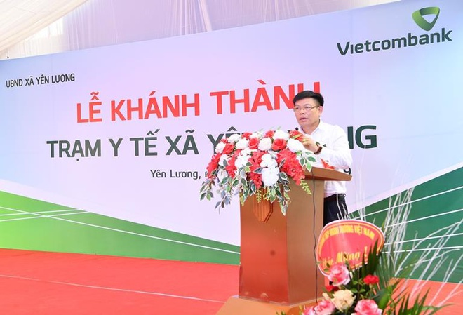 Vietcombank tai tro 2 ty dong xay dung tram y te tai Phu Tho hinh anh 3