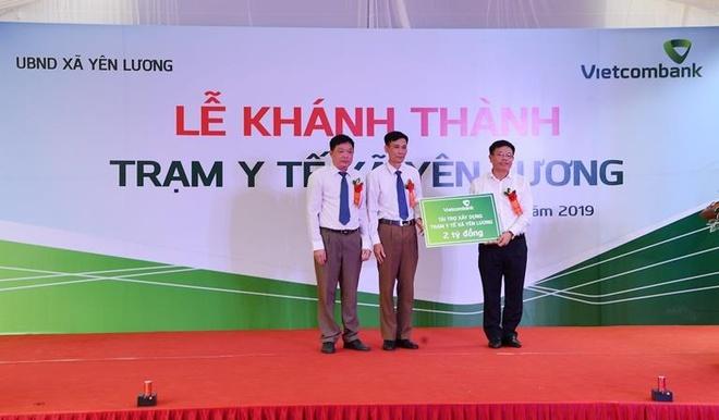 Vietcombank tai tro 2 ty dong xay dung tram y te tai Phu Tho hinh anh 4