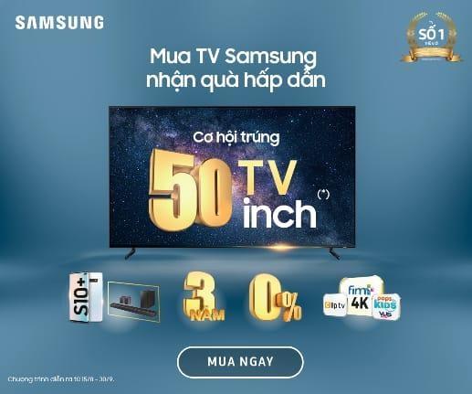 Mua TV uu dai den 50% tai Pico dip ky niem 50 nam Samsung hinh anh 2