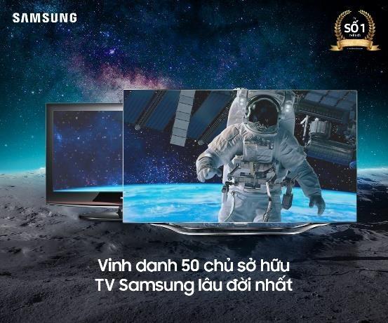 Mua TV uu dai den 50% tai Pico dip ky niem 50 nam Samsung hinh anh 1