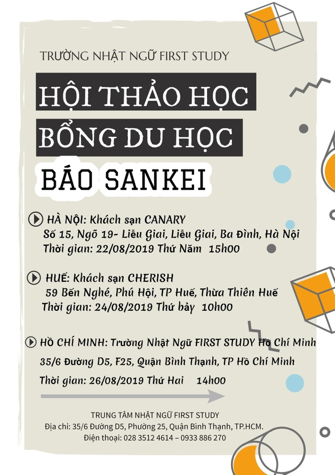 'San' hoc bong du hoc 1,7 trieu yen tai hoi thao du hoc bao Sankei hinh anh 1