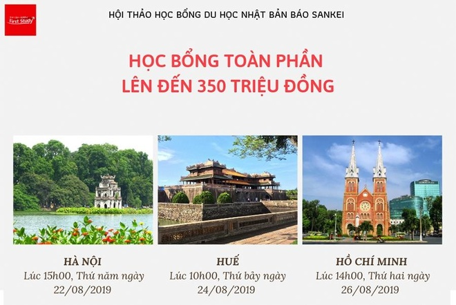 'San' hoc bong du hoc 1,7 trieu yen tai hoi thao du hoc bao Sankei hinh anh 2
