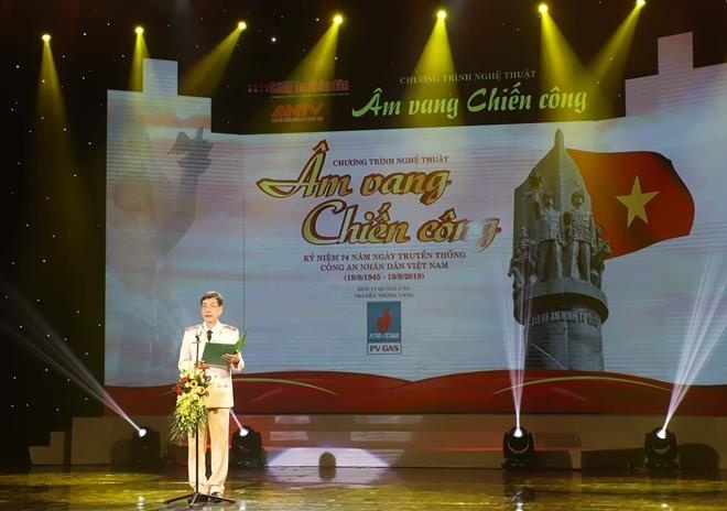 Tri an cac liet si,  thuong binh CAND anh 2