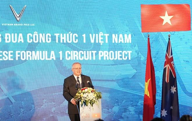 Thu tuong Australia tham duong dua F1 Viet Nam hinh anh 4