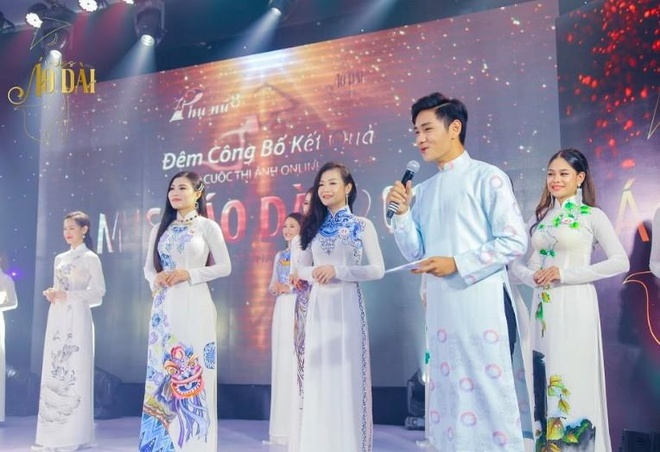 S.T Son Thach khuay dong le trao giai cuoc thi anh Miss Ao dai 2019 hinh anh 4