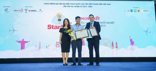 """Cuoc thi """"Startup Hunt 2019"""" anh 2"""