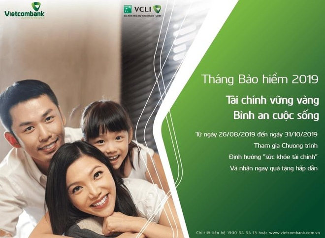 VCLI va Vietcombank phat dong thang bao hiem voi cac uu dai hap dan hinh anh 1