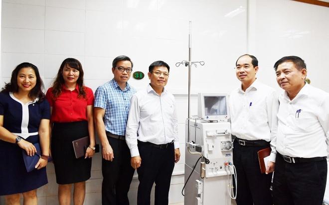 Vietcombank tang 2 may loc than cho BV Da khoa Xanh Pon hinh anh 2