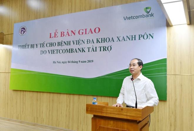 Vietcombank tang 2 may loc than cho BV Da khoa Xanh Pon hinh anh 3