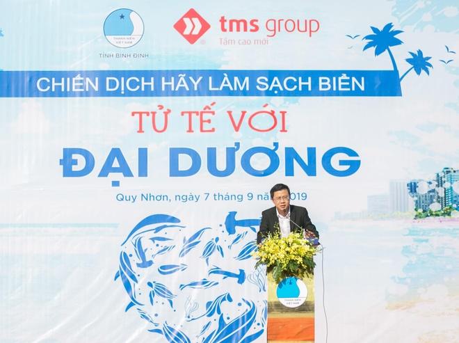 Hon 1.200 nguoi hao hung tham gia lam sach bien tai Quy Nhon hinh anh 3