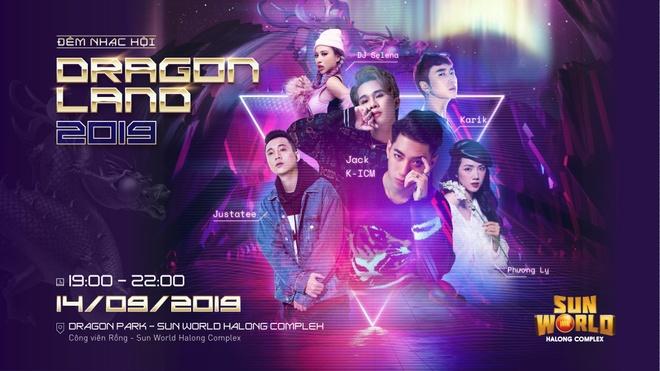 Jack va K-ICM hua hen khuay dong nhac hoi Dragon Land 2019 tai Ha Long hinh anh 4