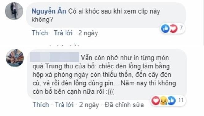 Cong dong mang xuc dong truoc phim ngan 'Qua Trung thu cua bo' hinh anh 2