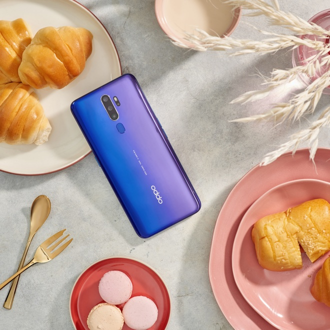 Smartphone tam trung Oppo A9 2020 chinh thuc mo dat hang hinh anh 2