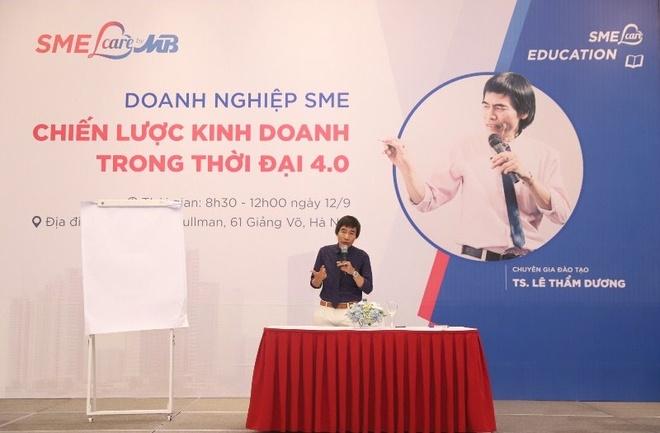MB tổ chức hội thảo chia sẻ kỹ năng quản trị doanh nghiệp SME