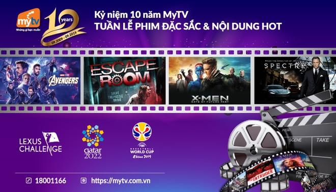 MyTV mo 'dai tiec' the thao va dien anh mung ky niem sinh nhat 10 tuoi hinh anh 2