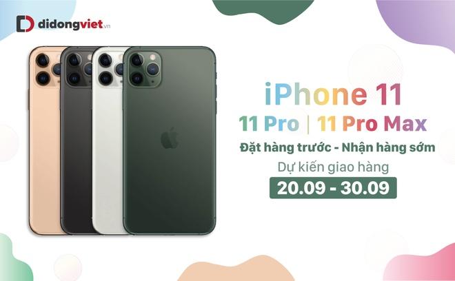 'Trade-in' điện thoại cũ tậu iPhone 11, Pro, Pro Max tại Di Động Việt