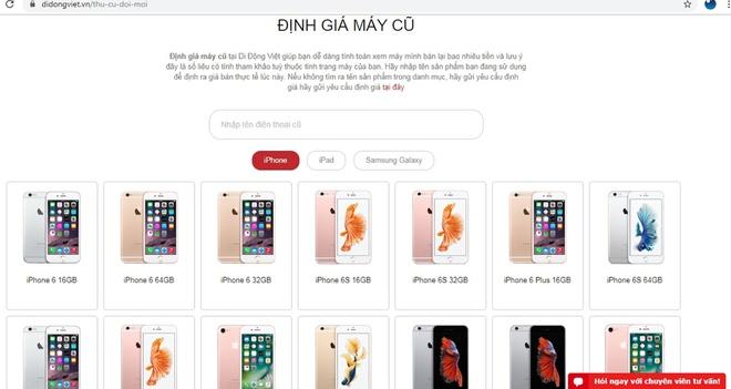 'Trade-in' dien thoai cu tau iPhone 11, Pro, Pro Max tai Di Dong Viet hinh anh 3