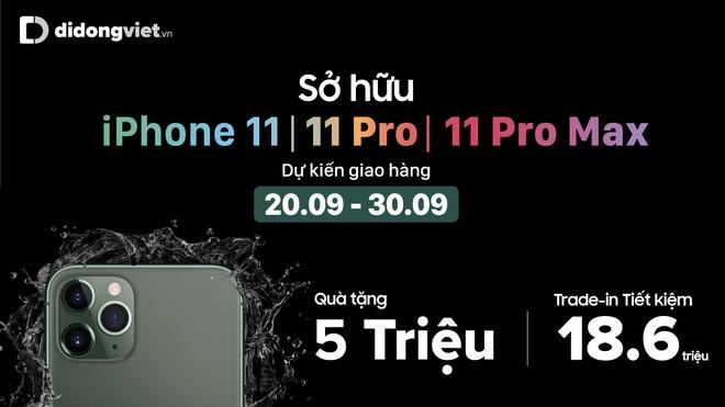 'Trade-in' dien thoai cu tau iPhone 11, Pro, Pro Max tai Di Dong Viet hinh anh 2