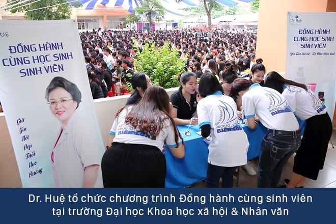 Dr. Hue mang co hoi tri mun mien phi cho sinh vien DH KHXH&NV hinh anh 1