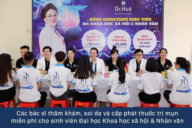 Dr. Hue mang co hoi tri mun mien phi cho sinh vien DH KHXH&NV hinh anh 2