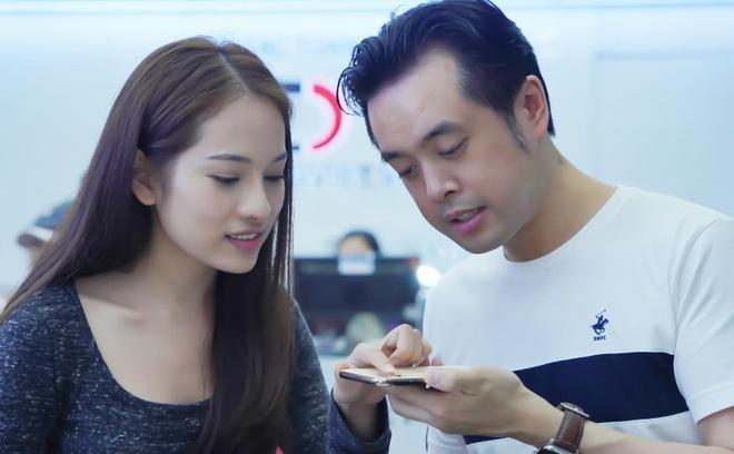 Sara Luu choi lon, tang Duong Khac Linh iPhone 11 Pro Max 79 trieu hinh anh 4
