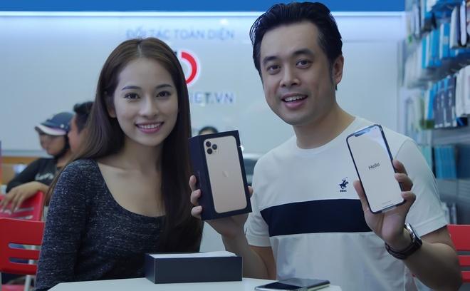 Sara Luu choi lon, tang Duong Khac Linh iPhone 11 Pro Max 79 trieu hinh anh 5