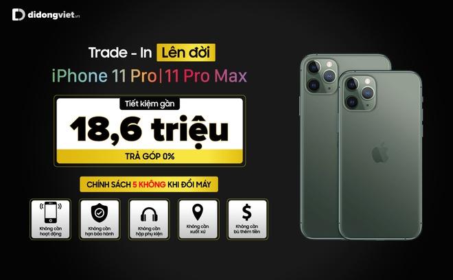 Ngo Kien Huy tren tay iPhone 11 Pro Max Midnight tai Di Dong Viet hinh anh 5