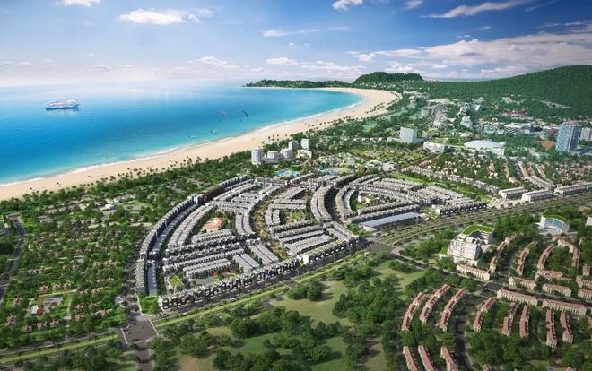 Dự án Nhơn Hội New City sở hữu vị trí liền kề bãi biển Quy Nhơn thanh bình.