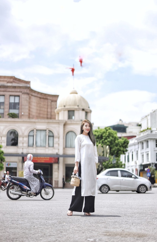 H'Hen Nie khoi xuong su kien ton vinh ao dai va sac rieng phu nu Viet hinh anh 3