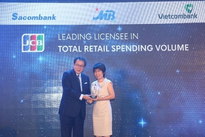 Vietcombank dan dau ve doanh so su dung, thanh toan the JCB hinh anh 4
