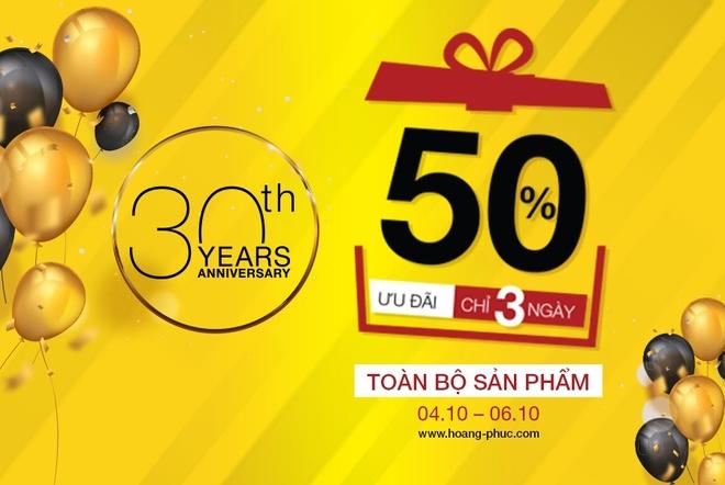 Hoang Phuc International - 30 nam la dia chi yeu thich cua gioi tre hinh anh 7